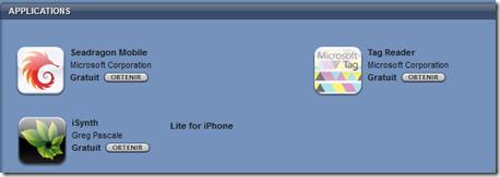 Appli AppStore