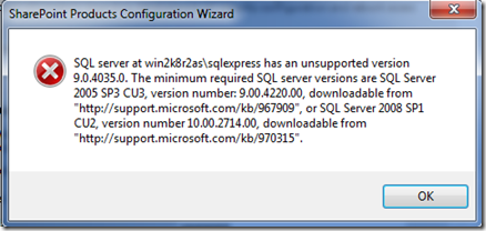 Moss2010_Error_SQL_Version