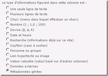 Type Metadata