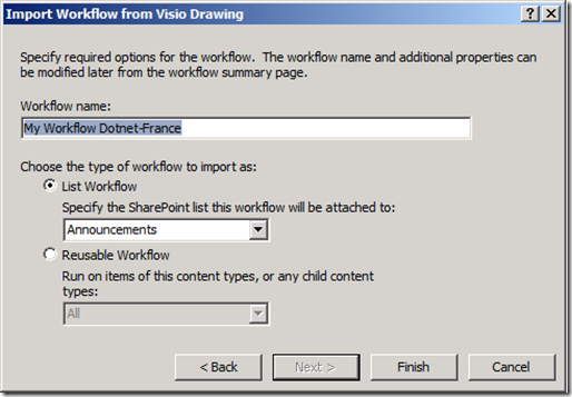 Import Workflow SharePoint Designer