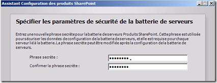 Assistant Configuration des produits SharePoint 4