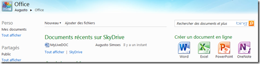 Office SkyDrive