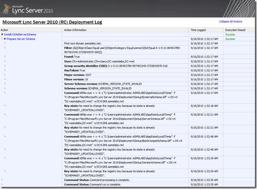 Lync 2010 Log Sample