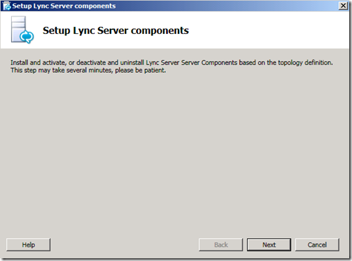 Lync Server Setup