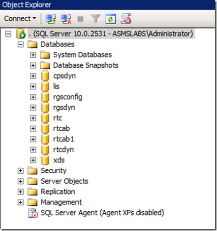 SQL Server CS14 Databases