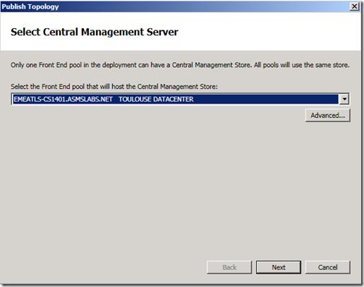 Topo Build Select CMS