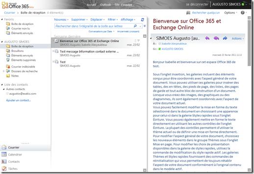 OWA Office 365